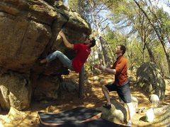 Rock Climbing Photo: RB