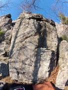 Rock Climbing Photo: Mystery boulder