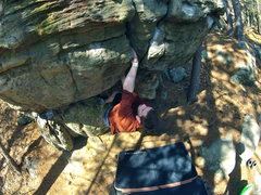 Rock Climbing Photo: The Man-eater