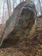 Rock Climbing Photo: Alien Stand Up Start
