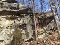Rock Climbing Photo: Anvil Center Right 15 Feet