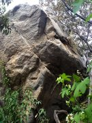 Rock Climbing Photo: Grinding Stone Arête.