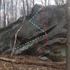 Fern Ridge<br> 10-15 feet<br> Long traverse, maybe some slab