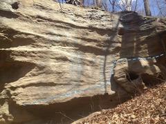 Rock Climbing Photo: Long Haul 10-15 Feet Long Traverse