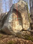 Rock Climbing Photo: Pacman  10 Feet Stand Up Start