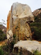 Rock Climbing Photo: BOB as seen from climbers loop trail.