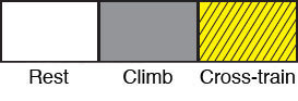Rock Climbing Photo: Exercise Key
