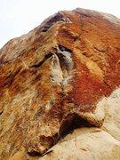 Rock Climbing Photo: Big Orange from the start.