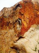 Rock Climbing Photo: Big Orange 5.12!