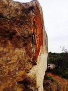 Rock Climbing Photo: Big Orange as seen from the North Arête.