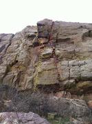 Rock Climbing Photo: Moai Routes.