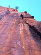 Rock Climbing Photo: Sharp crack