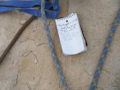 Rock Climbing Photo: Summit register