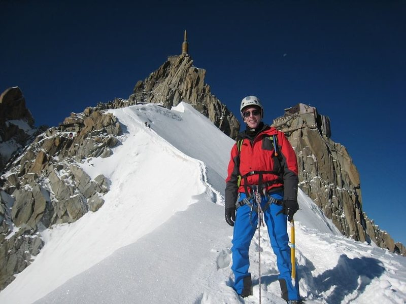 Rock Climbing Photo: Aiguille du midi, Chamonix, France