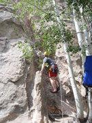 Rock Climbing Photo: Base of right side 5.5. Plenty of trees for hammoc...