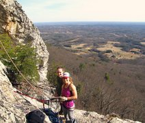 Rock Climbing Photo: Joy and Mackenzie - at the Prow on a sunny day