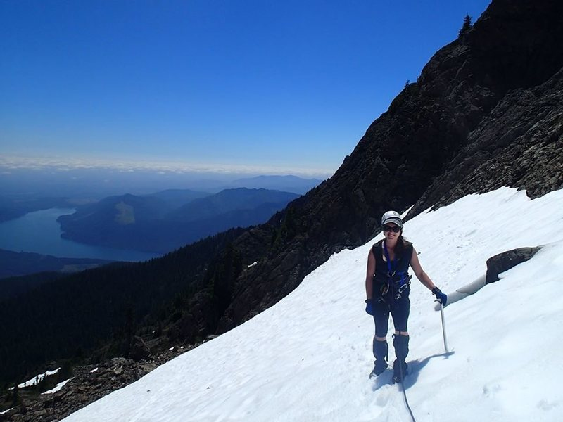 Rock Climbing Photo: Mt Washington, Olympic Mountain Range WA