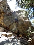 Rock Climbing Photo: Chris Fighting the Irish.