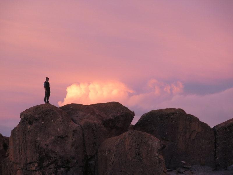 Rock Climbing Photo: Bloqueando 2013