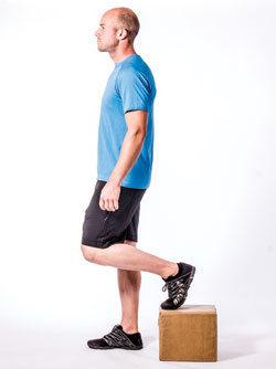 Reverse step-ups (start)