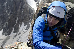 Rock Climbing Photo: Last summit in Caucasus. Peak MNR - 3963m