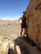 Rock Climbing Photo: In Joshua Tree
