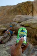 Rock Climbing Photo:  Durango's SKA Brewing, Mexican Logger, tastes gre...