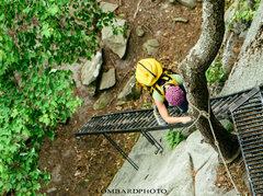 Rock Climbing Photo: More Cracks and Ladders.  Lombardphoto