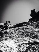 Rock Climbing Photo: Rappelling