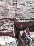 Rock Climbing Photo: What?