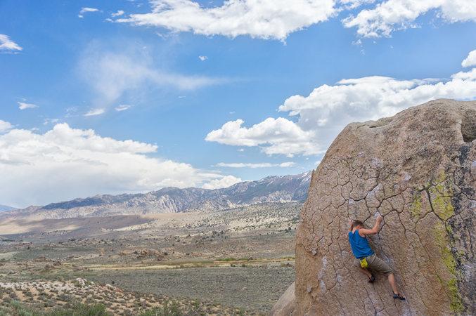 Rock Climbing Photo: Sean C. on Green Wall Essentials
