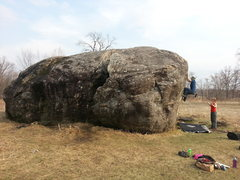 Louisville Swamp boulder is an awesome spot.