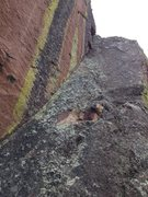 Rock Climbing Photo: Pole Vault.