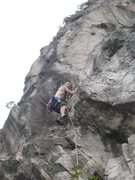 Rock Climbing Photo: First pitch of Gweilo.