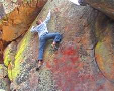 Rock Climbing Photo: Big Kid Tantrum.