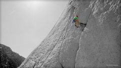 Rock Climbing Photo: Second Flake on The Flakes