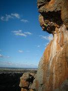Rock Climbing Photo: Cody Blair on Pain Street, 23, in Arapiles