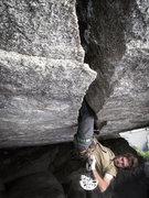 Rock Climbing Photo: Patrick Kingsbury on Trench Warfare 12+