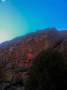 Rock Climbing Photo: Seize of Holds. Pick a line and head up!