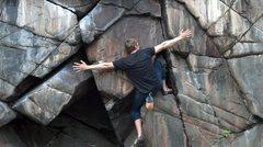 Rock Climbing Photo: bouldering at taylor's falls, MN