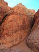 Rock Climbing Photo: Babylon - Red Cliffs Desert Reserve 1
