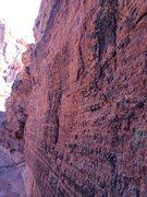 Rock Climbing Photo: Babylon - Red Cliffs Desert Reserve 3