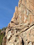 Rock Climbing Photo: Orange Corner.