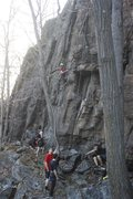 Rock Climbing Photo: Hanging out at the GBW!