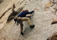 Rock Climbing Photo: Green A in 1994