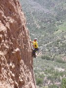 "Rock Climbing Photo: Cool running up ""Amarillo By Morning."""