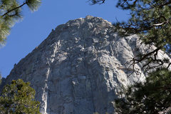 Rock Climbing Photo: No need to draw a route line - the sun does it for...