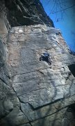 Rock Climbing Photo: Fun moves the whole way up.