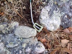 Rock Climbing Photo: ???? Placement