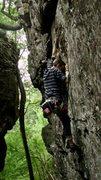 Rock Climbing Photo: me at horseshoe